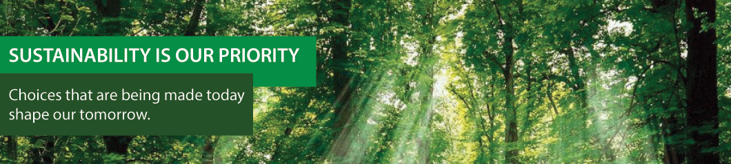 GREEN SUSTAINABILITY BANNER